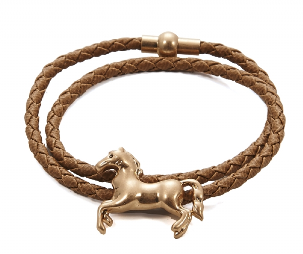 Brown horse charm bracelet- For all Horse Lovers. Popular Item
